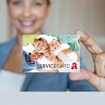 Servicekarte für Ihre Apotheke in Salzkotten